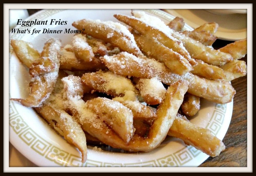 Grandma Restaurant - Eggplant Fries