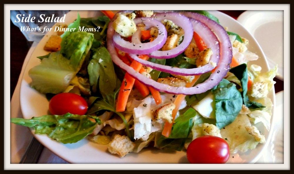 Grandmas Restaurant Side Salad