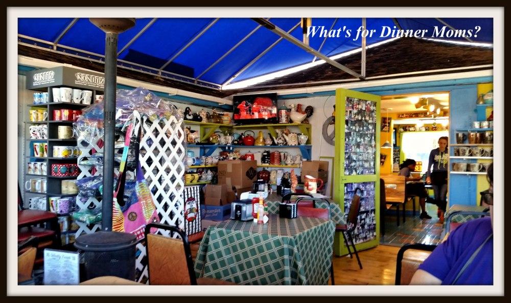 Porch at Java Joe's