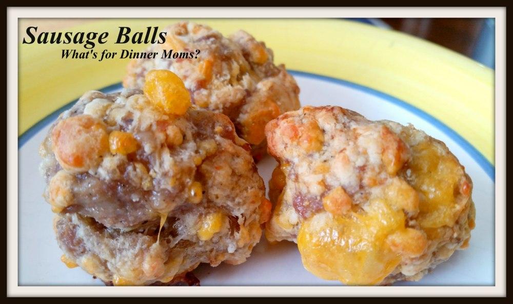 sausage-balls-plated