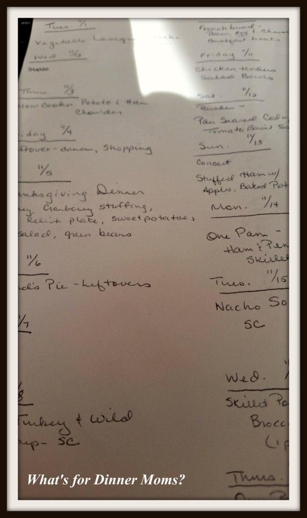 menu-planning