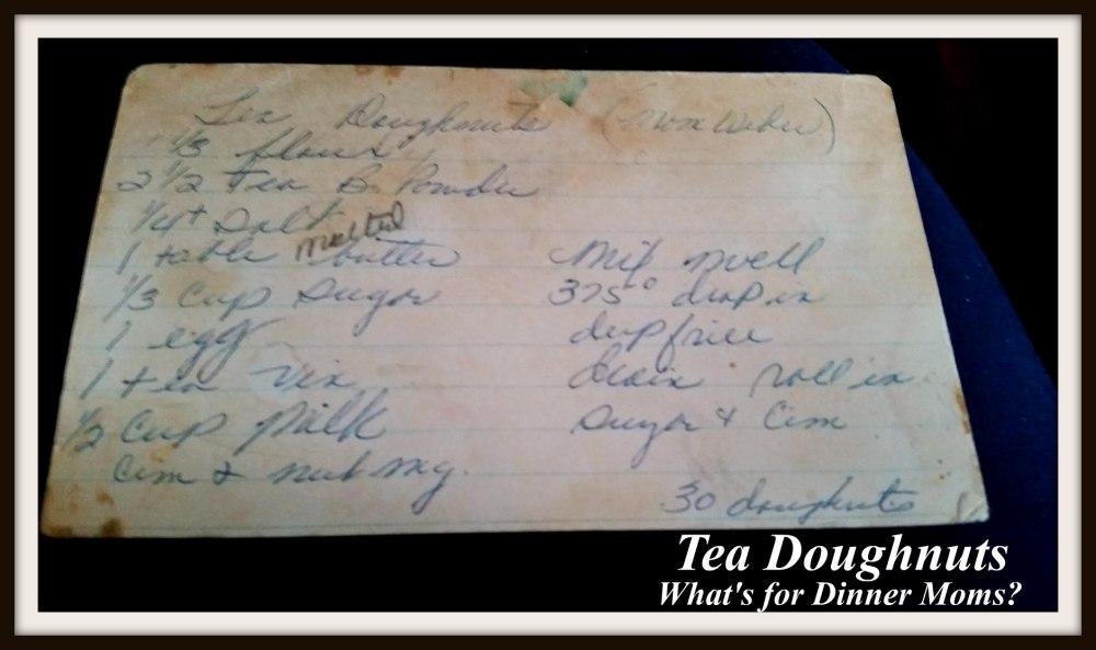 tea-doughnuts