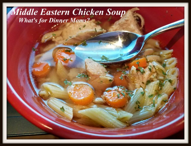 Middle Eastern Chicken Soup Whats For Dinner Moms