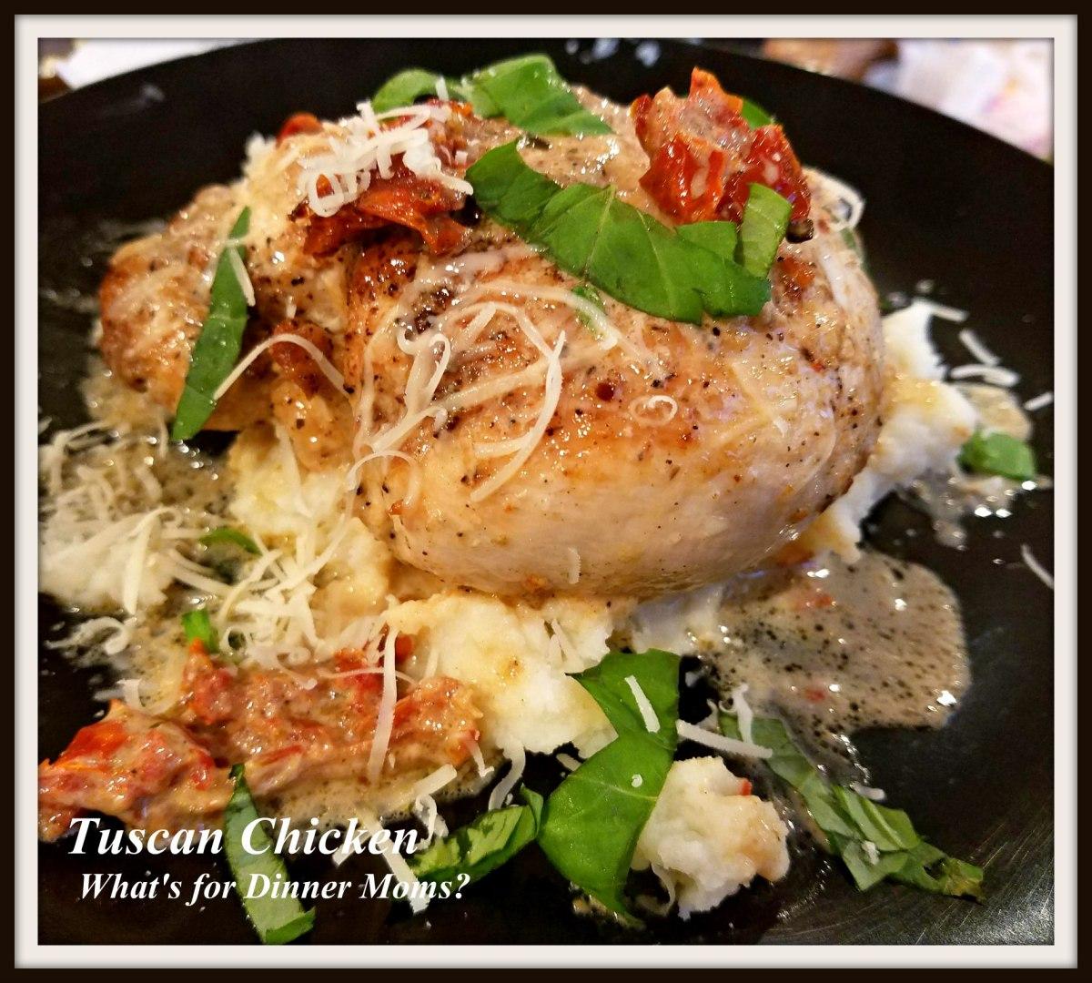 Tuscan Chicken (Marry Me Chicken)