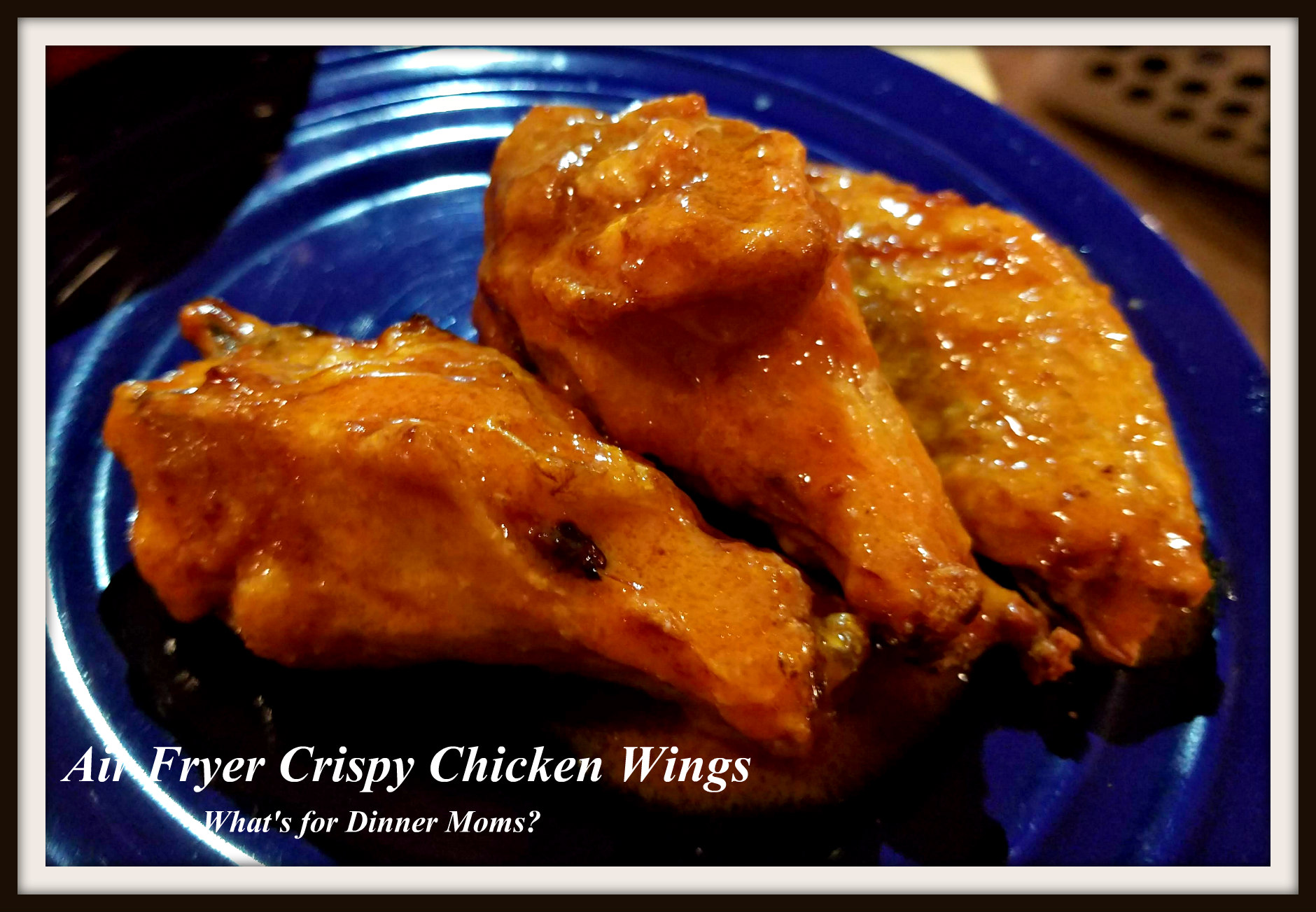 ninja air fryer chicken wings recipe